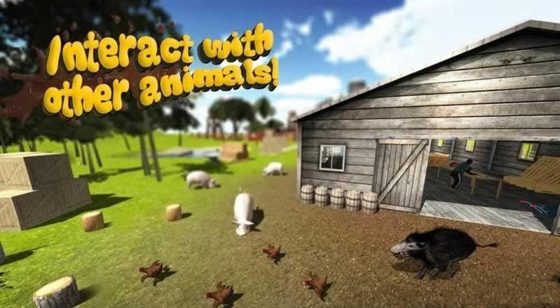 小猪模拟器2中文游戏手机版(the pig simulator2)图1: