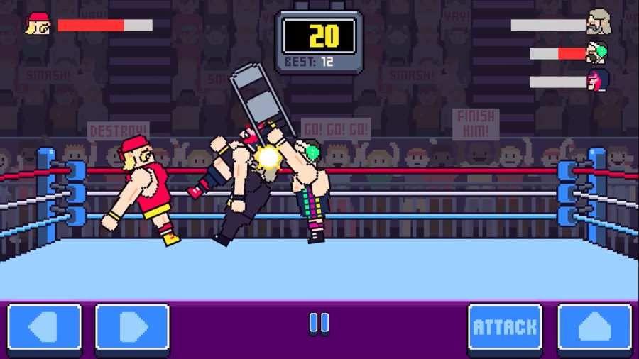狂野摔跤手机游戏最新版下载地址图4:
