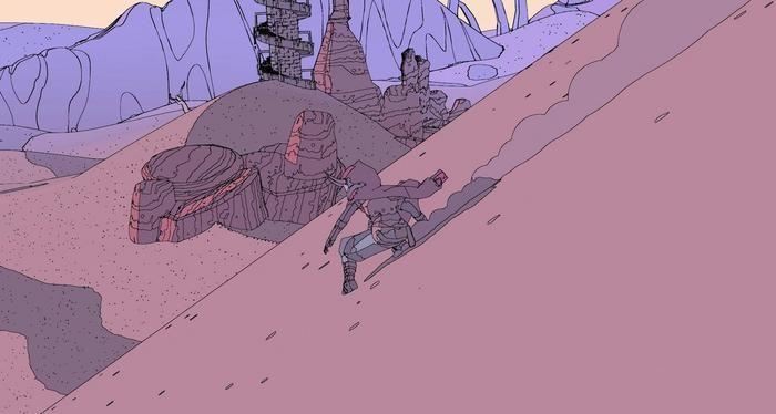 在爬满蜘蛛的小屋里,这两名开发者做了一款墨比斯漫画风格的独立游戏[多图]