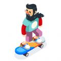 溜冰鞋修改版