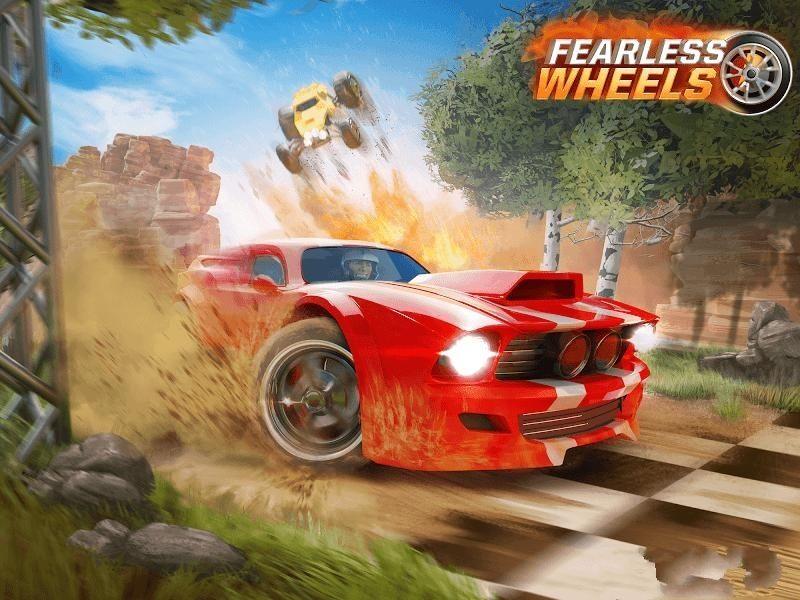 无畏战车无限金币中文修改版(Fearless Wheels)图1:
