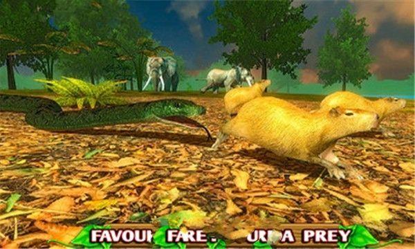 愤怒的蛇模拟器安卓官方版游戏下载图1: