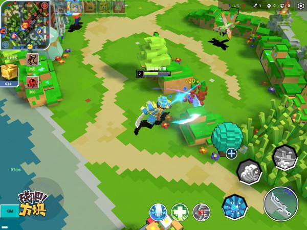 战吧方块9月20日TF首测 像素MOBA游戏来了[多图]