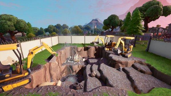 堡垒之夜地面频频圈地施工 战利湖于昨日完工[视频][多图]图片2