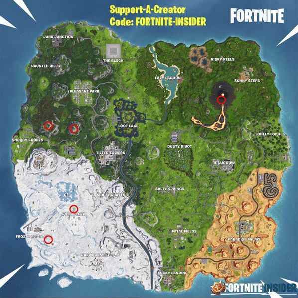 堡垒之夜最高的高地在哪里?5个最高的高地位置汇总图片2
