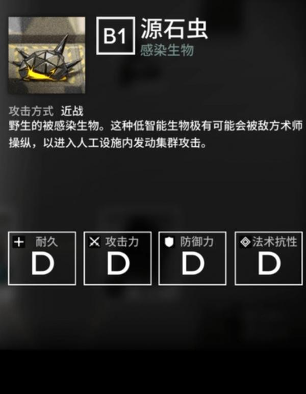 明日方舟敌人图鉴大全:怪物图鉴及攻击方法图片2