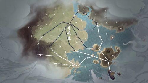 阴阳师年度大战轨迹预测活动攻略:海国入侵预测路线绘制图一览[视频][多图]图片1