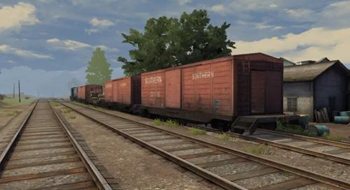 明日之后红杉镇火车时刻表:火车物资分布位置一览图片2