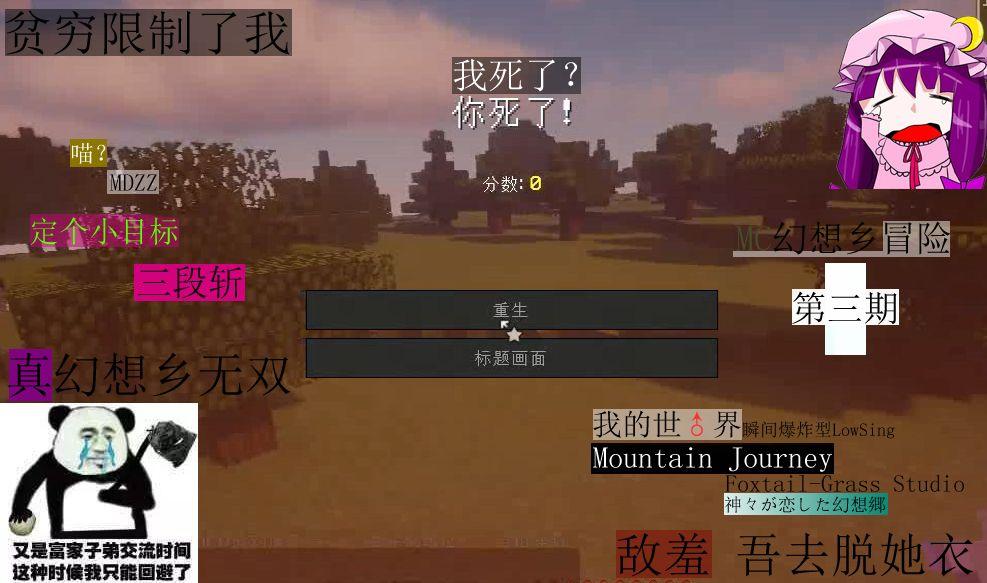 帕秋莉的MineCraft幻想乡冒险03:毛玉与妖精的退治[视频][多图]图片1