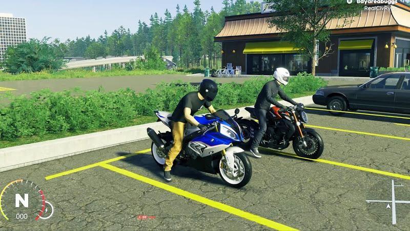 摩托骑手交通比赛3D游戏安卓手机版下载图片4