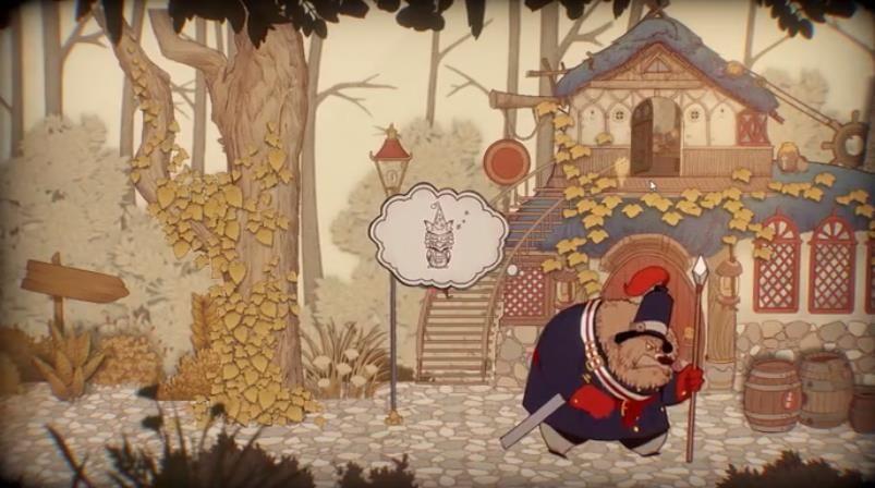 纸鱼解说Rustle故事书的奇妙冒险游戏中文版下载图片3