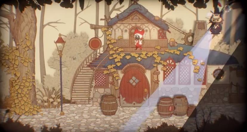 纸鱼解说Rustle故事书的奇妙冒险游戏中文版下载图片4