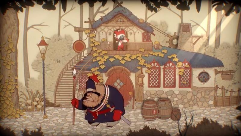 纸鱼解说Rustle故事书的奇妙冒险游戏中文版下载图片1