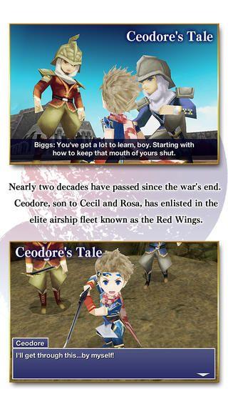 最终幻想4月之归还ios中文汉化修改版下载图片1
