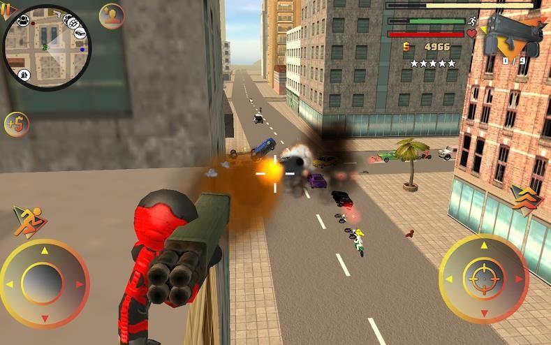 蜘蛛人绳索英雄5中文游戏修改版下载图片3