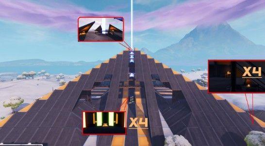堡垒之夜巨型金字塔攻略:金字塔物资位置分布一览[视频][多图]图片3