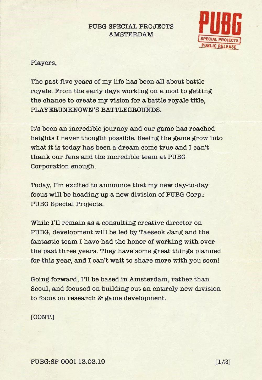 """PUBG团队要""""告别""""吃鸡?商业游戏公司的未来如何[视频][多图]图片3"""