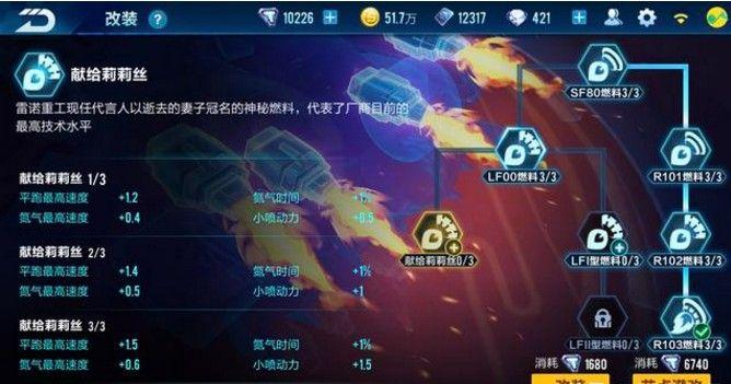 QQ飞车手游幻影战神满改推荐:幻影战神满改数据解析[视频][多图]图片2