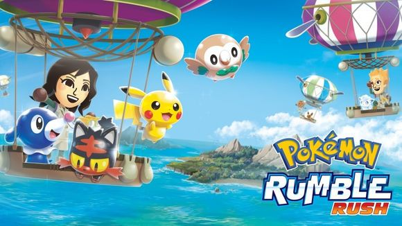 Pokemon Rumble Rush图2