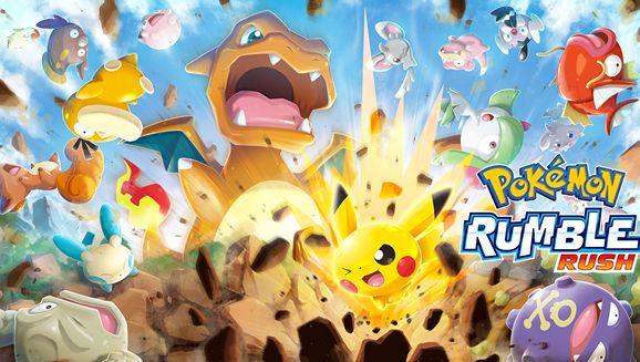 Pokemon Rumble Rush图1