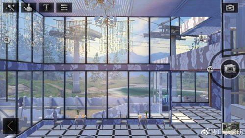 明日之后落地窗别墅设计蓝图:豪华落地窗房子平面设计图图片1
