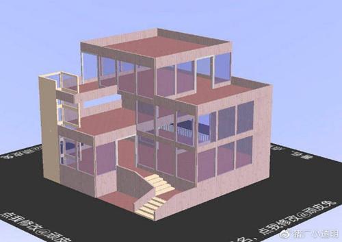 明日之后落地窗别墅设计蓝图:豪华落地窗房子平面设计图图片7
