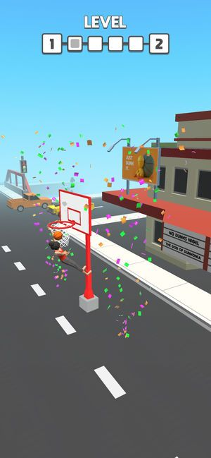 Flip Dunk游戏安卓版下载(翻转灌篮)图片3
