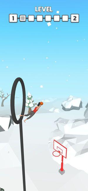 Flip Dunk游戏安卓版下载(翻转灌篮)图片4