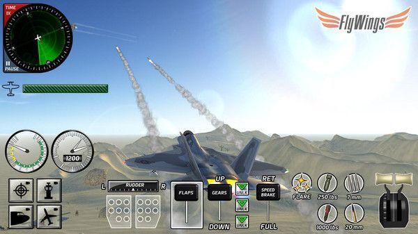 战斗飞行模拟器手游中文版免费武器完整版安卓下载图片1