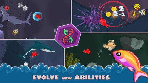 小鱼大冒险无限金币游戏下载图片1