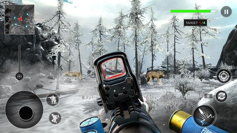 FPS狩猎大师中文游戏修改版下载(FPS Hunting Master)图片1