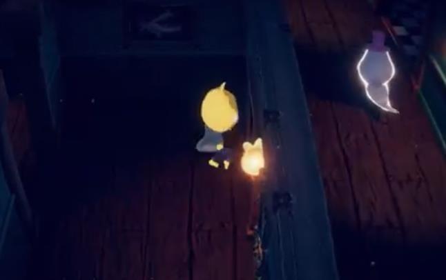 纸鱼逃离幽灵酒店游戏手机版下载图片1