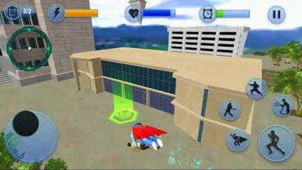 超级奶奶飞行英雄冒险游戏安卓版下载图片1