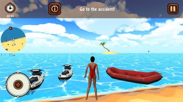 海滩救生员救援安卓版图1