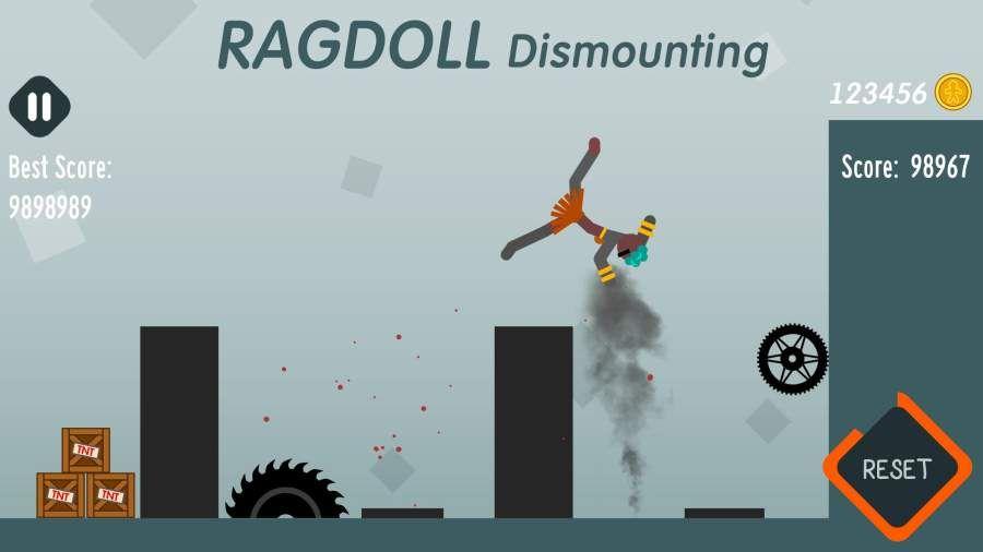 拆解布娃娃无敌破解中文版下载(Ragdoll Dismounting)图片4