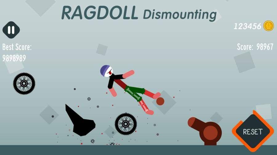 拆解布娃娃无敌破解中文版下载(Ragdoll Dismounting)图片3