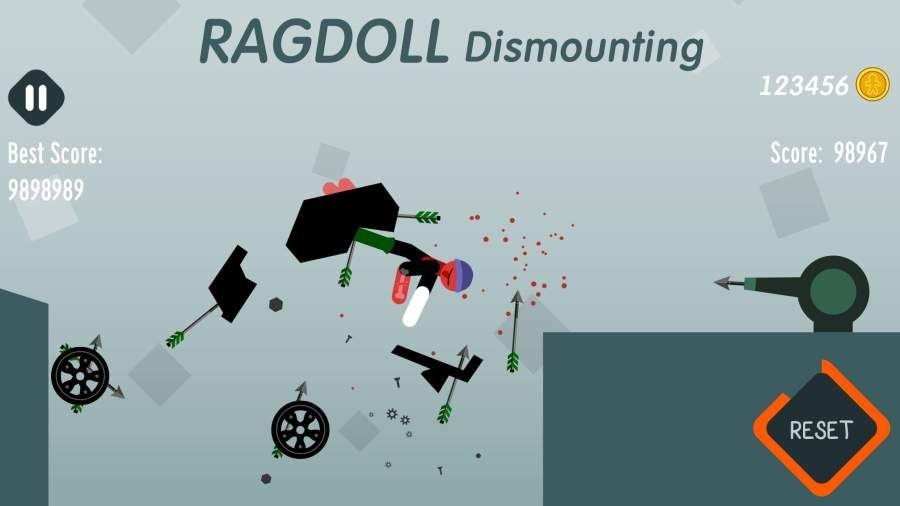 拆解布娃娃无敌破解中文版下载(Ragdoll Dismounting)图片5