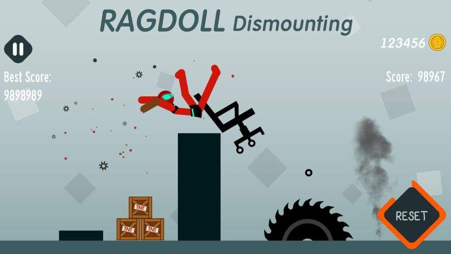 拆解布娃娃无敌破解中文版下载(Ragdoll Dismounting)图片2