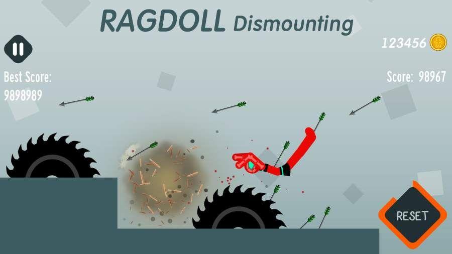 拆解布娃娃无敌破解中文版下载(Ragdoll Dismounting)图片1