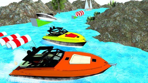 激流快艇模拟器游戏官方中文版下载图片1