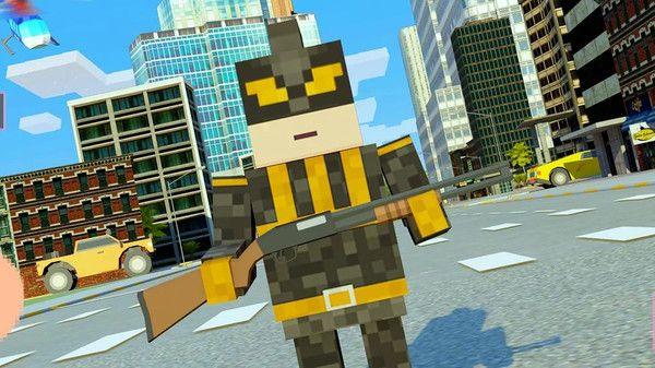 超级方块绳索英雄游戏图3