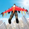 喷气背包飞行英雄游戏