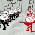 漫画暴走战争模拟游戏
