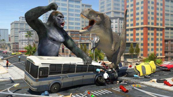 哥斯拉大战恐龙游戏安卓版下载图片1