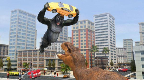 哥斯拉大战恐龙游戏安卓版下载图片2