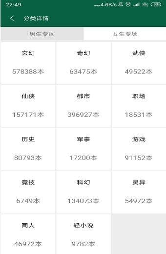 书阳小说APP安卓版下载图片3