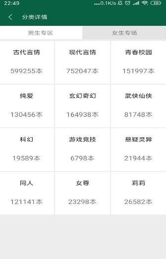 书阳小说APP安卓版下载图片4