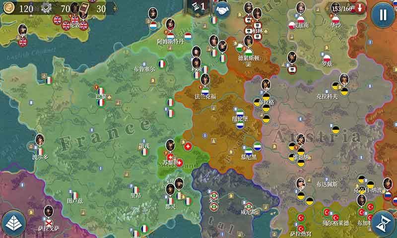 欧陆战争6无限资源内购免费修改版图2: