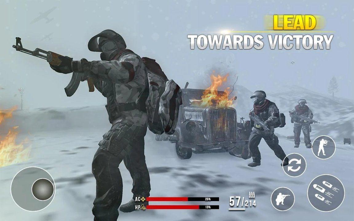 雪地战场中文版图1