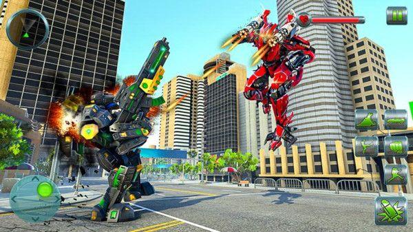 大黄蜂变形战斗游戏图5